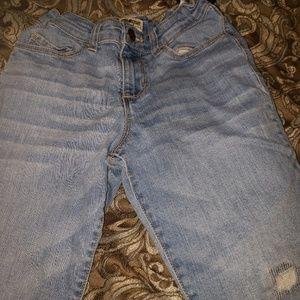 Girls size 8 oshKosh skinny jeans